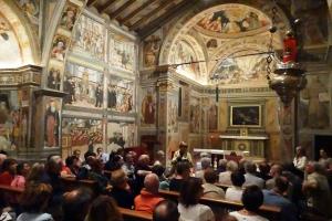 Pellegrinaggio alla chiesa di San Bernardino in Lallio