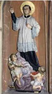 Sanluigi Gonzaga - statua