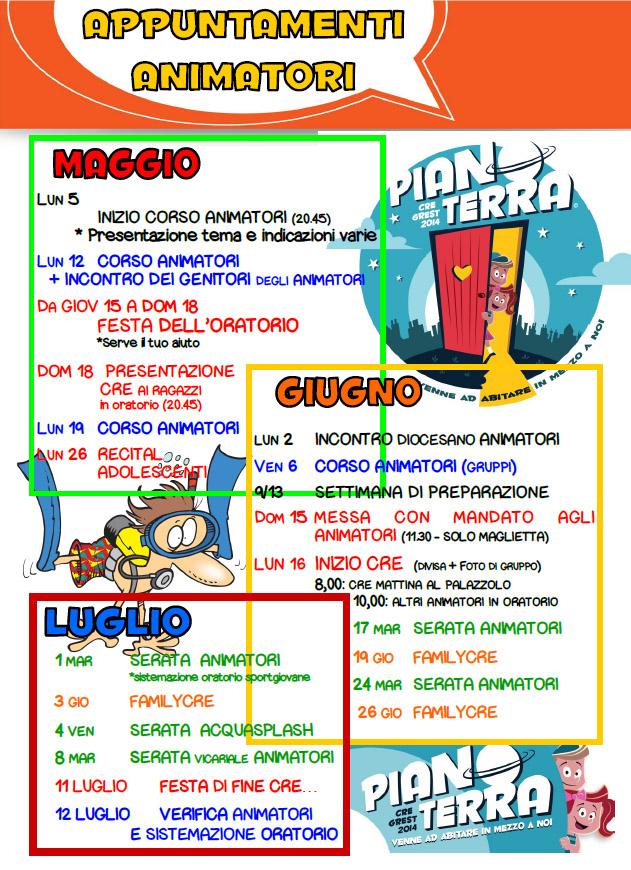 CORSO ANIMATORI 2014