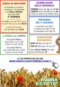 Orario ESTIVO 17 -2