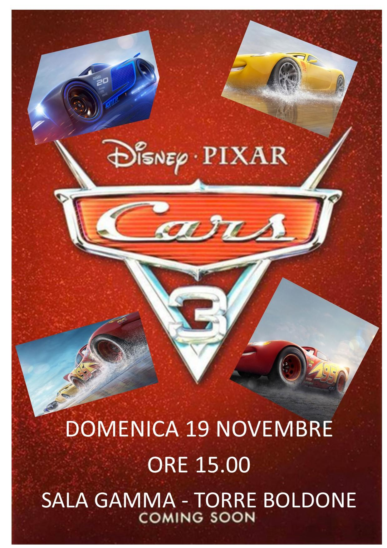 Cars 3 Locandina