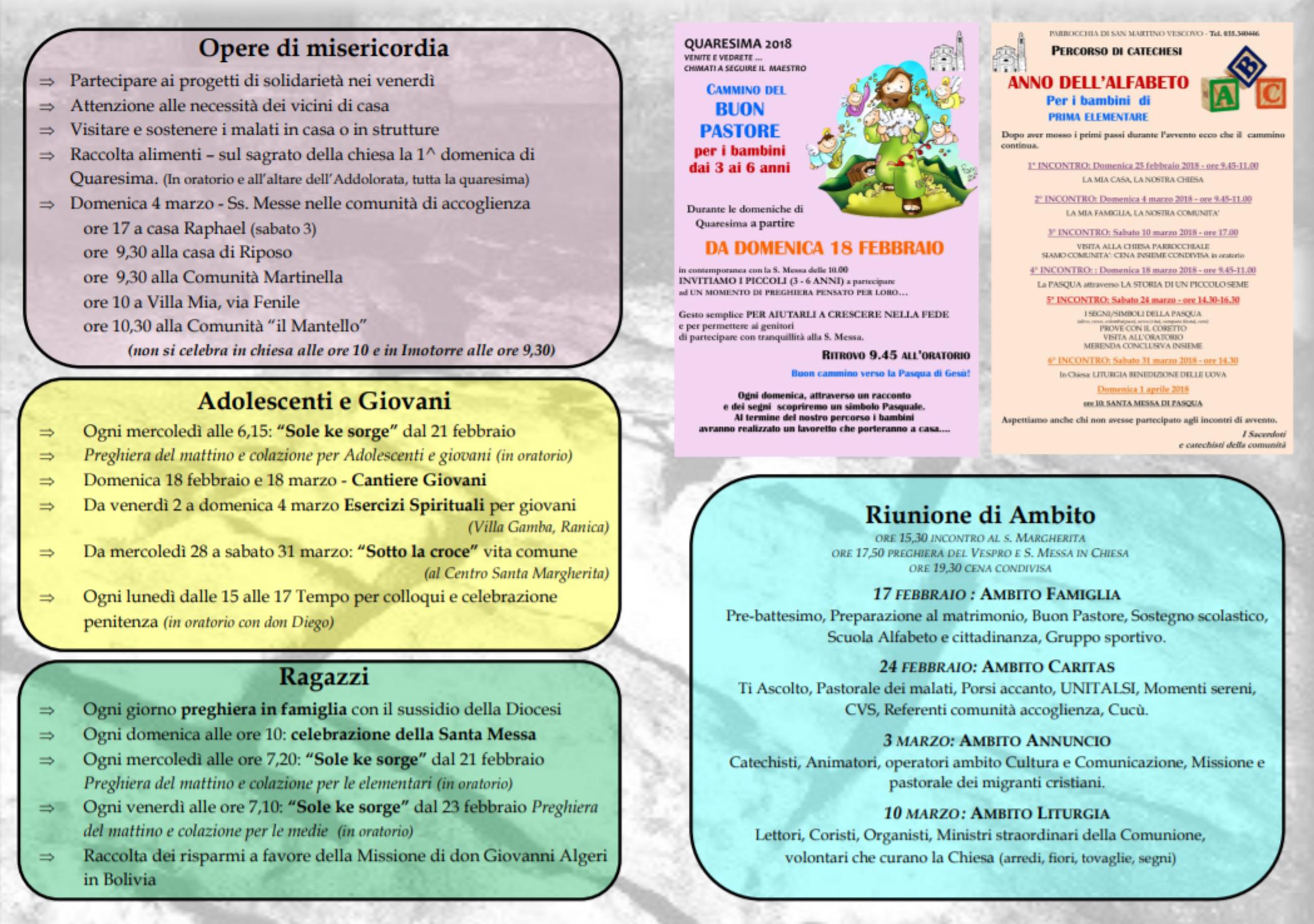 Incontro di preghiera quaresima [PUNIQRANDLINE-(au-dating-names.txt) 46